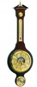 Barigo Wand- Baro-/Thermo-/Hygrometer, 72cm