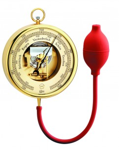 Barigo Demonstrations- Barometer, Messing