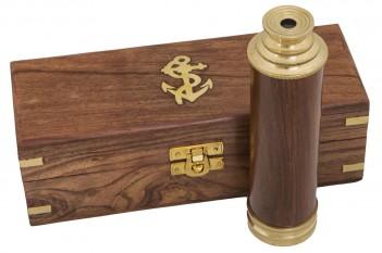 Teleskop, Holzbox