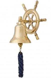 Schiffsglocke, Steuerrad, 7,5cm