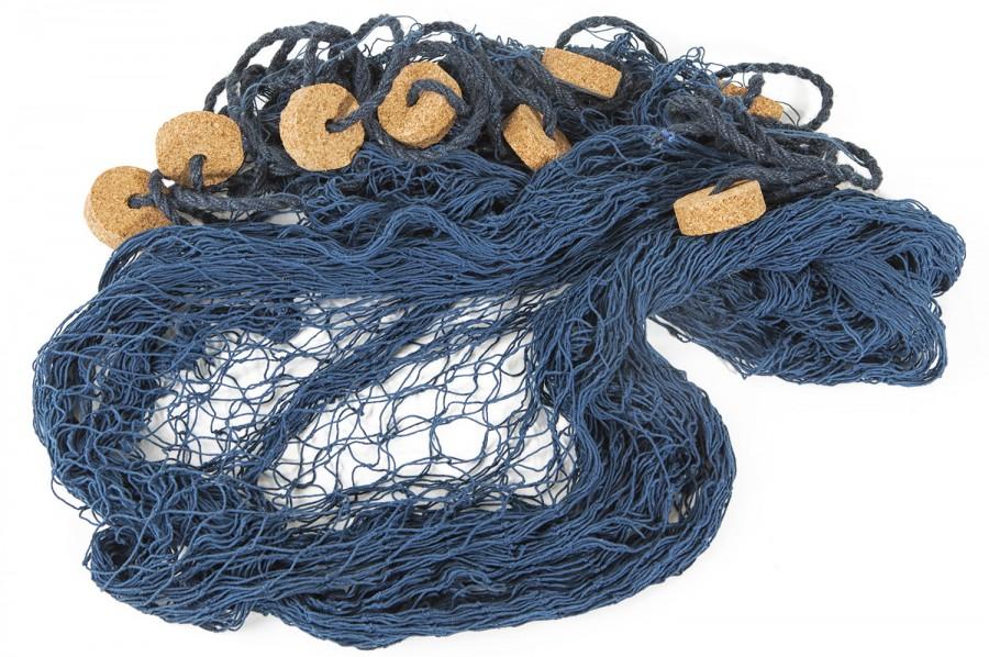 fischernetz deko blau 230x300cm online bestellen bei mare me. Black Bedroom Furniture Sets. Home Design Ideas