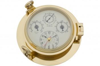 Uhr, Baro-, Thermo und Hygrometer