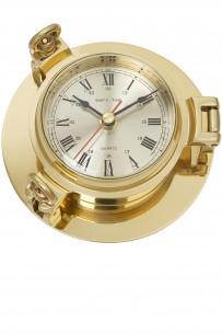 Uhr im Bullauge, 14cm